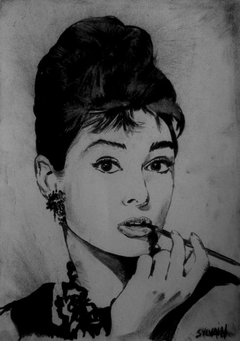 Audrey Hepburn par sylvain.g